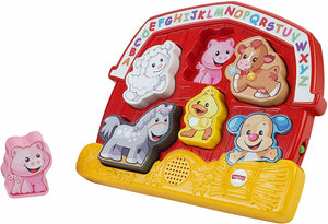Fisher-Price Laugh & Learn Zoo Animal Puzzle Names Sounds Learning Preschool