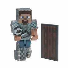 "Minecraft 3"" Action Figures Steve Alex Villager"