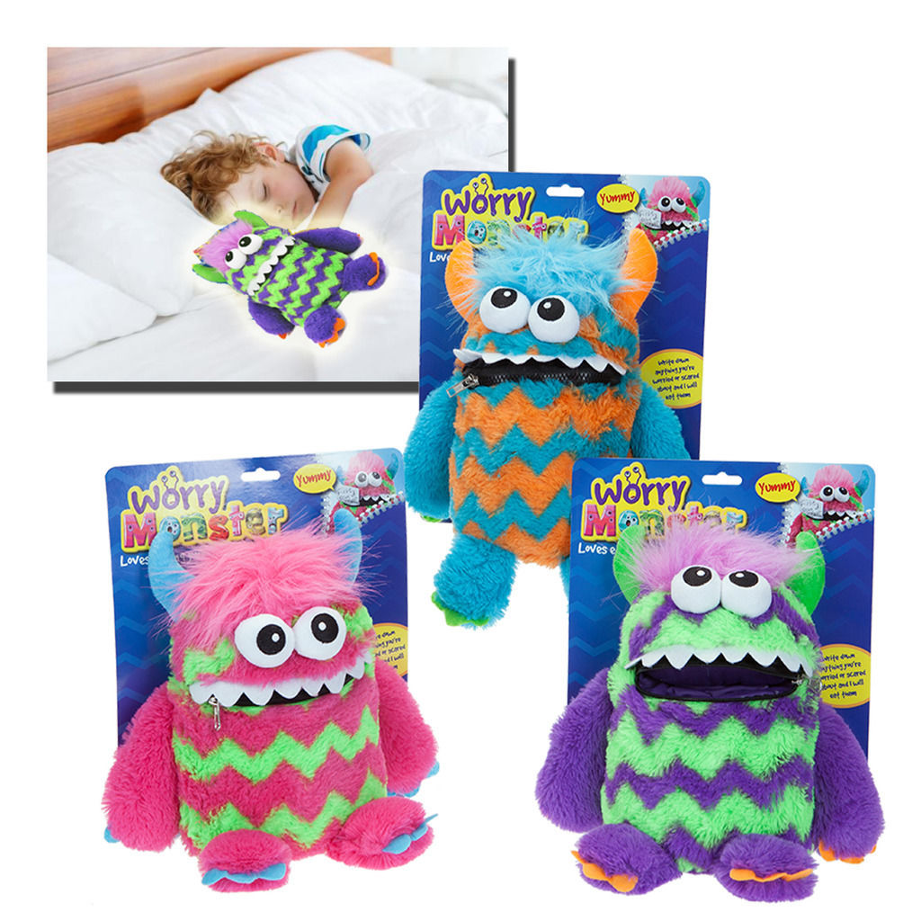 Worry Monster Plush Soft Toy 30cm