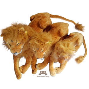 Deluxe Paws  Realistic Lion Soft Toy 110cm - BEST SELLER