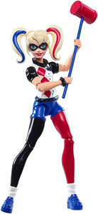 Mattel DMM34 DC Super Hero Girls Super Girl or Harley Quinn Action Figure 6 Inch