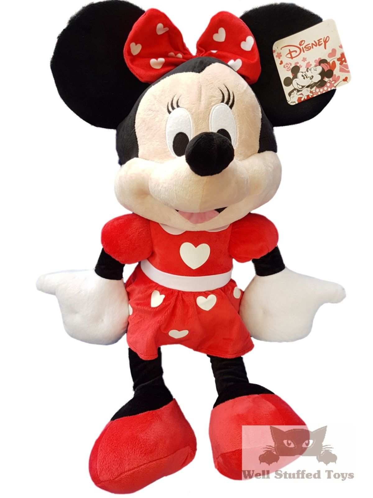 "Official Extra Large Minnie Mouse Plush Soft Toy Gift 30"" 77cm RRP £49.99"