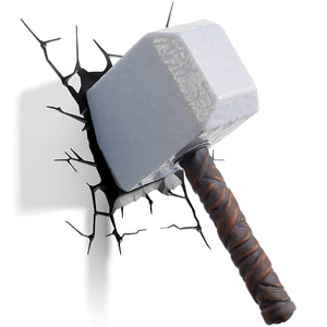 "Marvel ""Thor Hammer"" 3D LED Light"