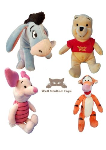 Winnie The Pooh Small Plush Soft Toy Tigger Piglet Eeyore 20cm (Full Set)