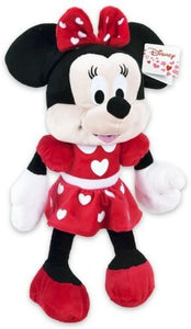 Official Disney Minnie Mouse Love Hearts  Plush Soft Toy 17""