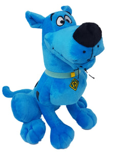 "Official Bandai Namco Scooby Doo Plush 13"" - Neon Pink Neon Blue, Multi Colours"