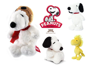 "Peanuts 7.5-inch Woodstock Plush - Snoopy 11"" or Snoopy Pilot 7.5"""