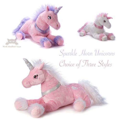 Deluxe Paws Silky Soft Unicorn 3 Styles 50cm 20
