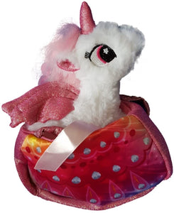 White Unicorn in a Bag
