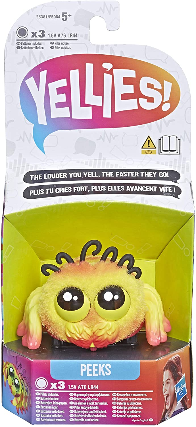 Yellies! Peeks; Voice-Activated Spider Pet