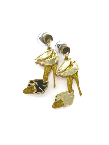 Belle High Heels Earrings