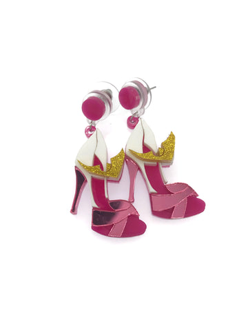 Aurora High Heels Earrings