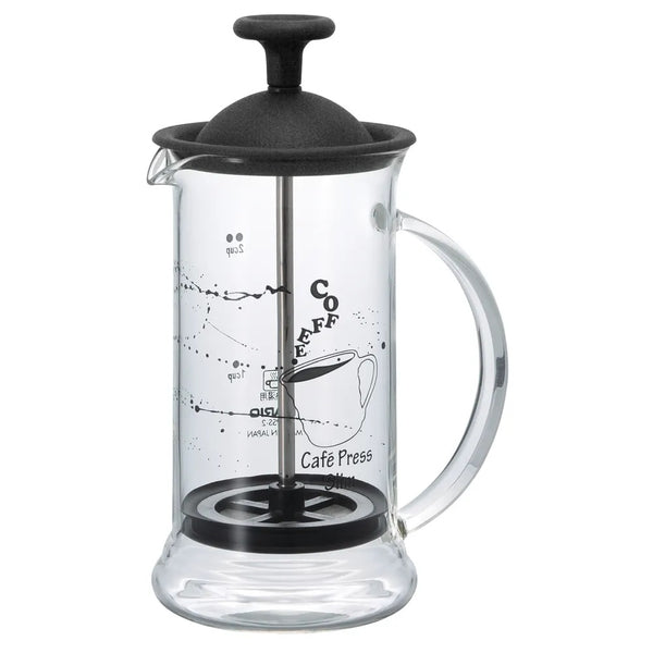 Prensa Francesa Preta Hario Café Press Slim S - 240ml