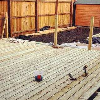 How to demolish a wood deck