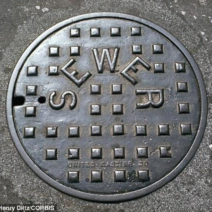 The PC brigade will never make us change the name 'manhole cover'