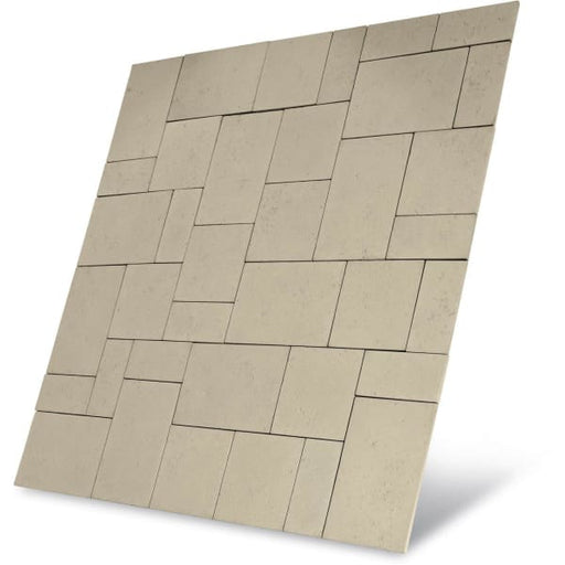 Baroque Paving Patio Kit 5.76m2 Limestone-Armstrong Supplies