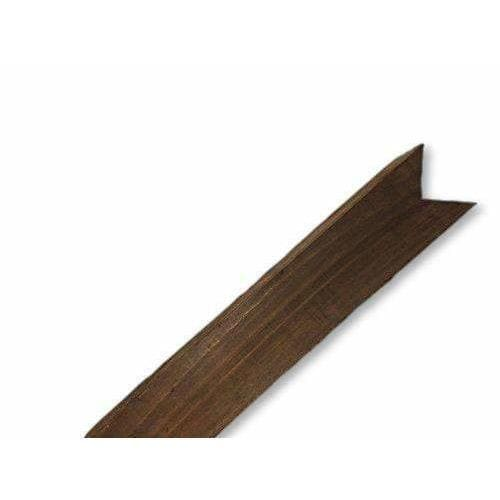 Birdsmouth Fence Post Brown Treated 100mm x 100mm x 1200mm-Armstrong Supplies