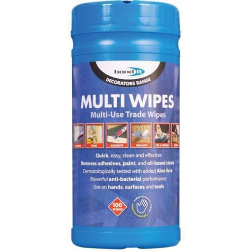 Bond It Trade Multi Purpose Cleaning Wipes BDHW80-Tools & Equipment-Bond it-Armstrong Supplies