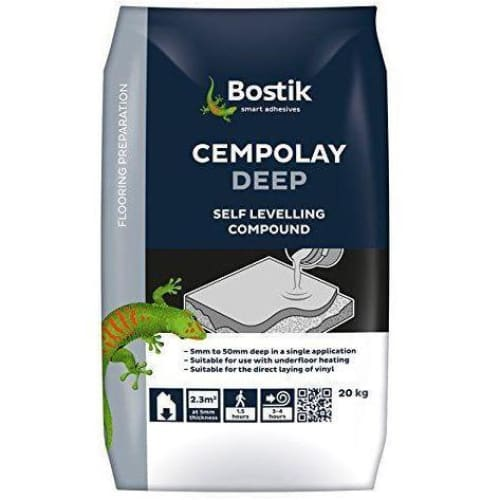 Bostik 20 kg Cempolay Deep Resurfacing Compound - Grey-Bostik-Armstrong Supplies