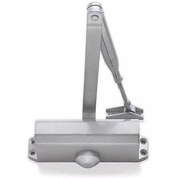 Briton Overhead Door Closer Silver 121CE.SES-Armstrong Supplies