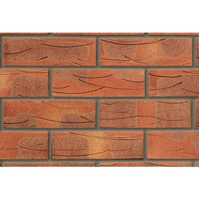 Butterley Facing Brick 65mm Sherwood Red Mixture Pack of 495