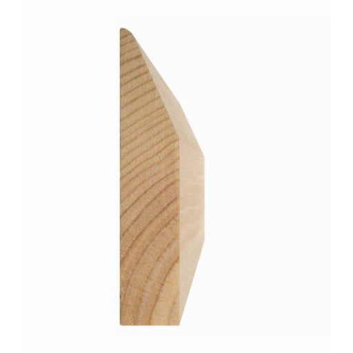Chamfered and Rounded Architrave Softwood 19 x 50mm
