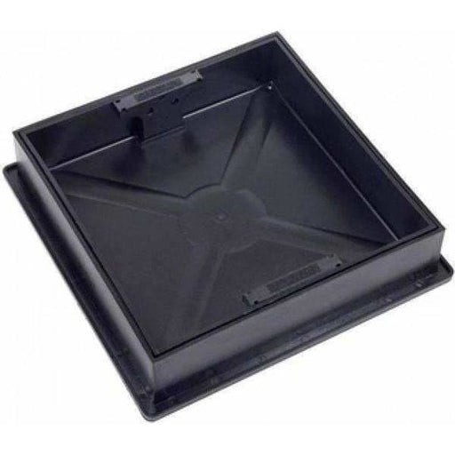 Clark Drain Manhole Cover Square to Round for Block Paving 300 x 300 x 80mm-Armstrong Supplies