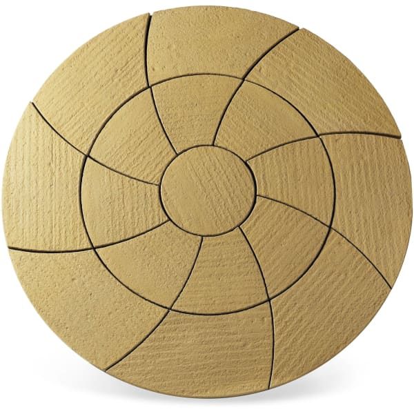 Catherine Wheel Paving Patio Kit 2.09m Barley-Armstrong Supplies