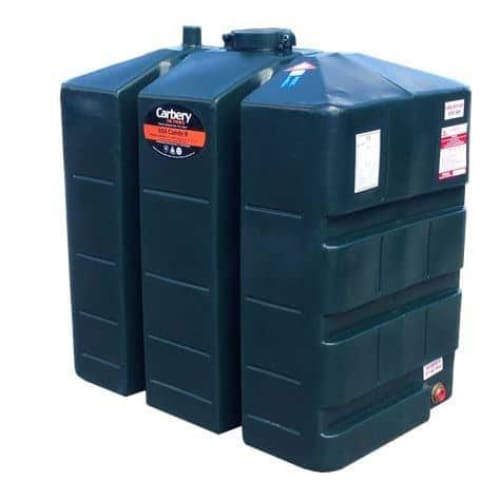 Compact Single Skin Plastic Heating Oil Tank Various Size & Capacity Options-Carbery Plastics-Armstrong Supplies