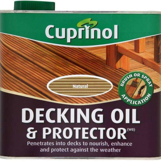 Cuprinol Decking Oil & Protector 2.5L Natural-Armstrong Supplies