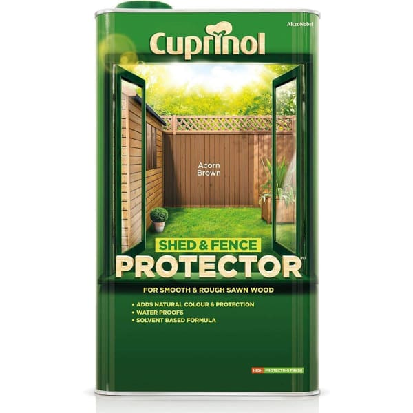 Cuprinol Shed & Fence Protector 5L-Cuprinol-Armstrong Supplies