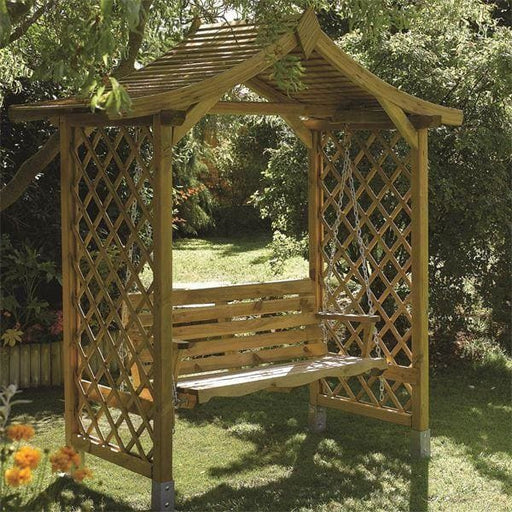 Dartmouth Garden Swing Seat Arbour
