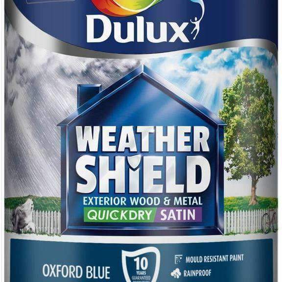 Dulux Weathershield Quick Dry Exterior Satin 750ml-Armstrong Supplies