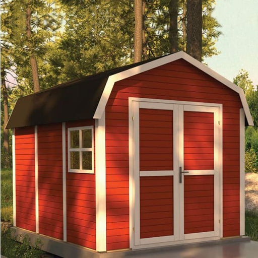 Dutch Barn 11x8 - Swedish Red