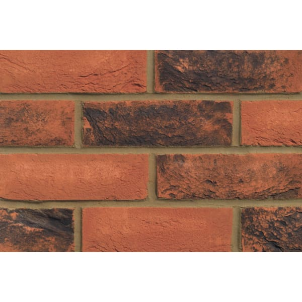 Ecostock Facing Brick 65mm Chelsea Smoked Red Pack of 495 -
