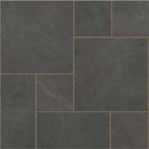Eden Slate Porcelain Linear Pack Paving Slabs 40 Pack 1000 x