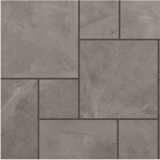 Eden Slate Porcelain Patio Pack Paving Slabs 144 Pack 500 x