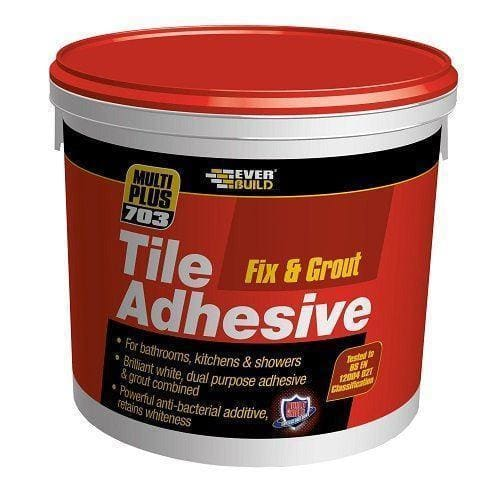 Everbuild 703 Fix Grout Tile Adhesive 3.75KG/2.5L