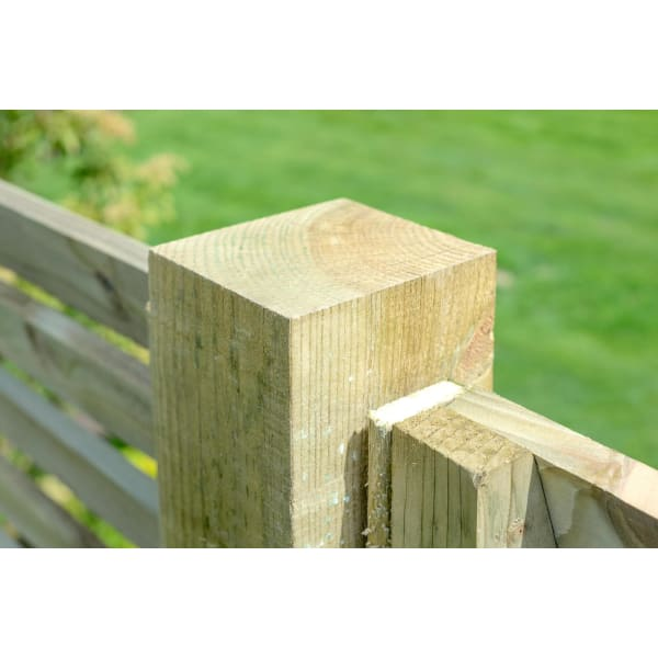 Fence Posts 75mm Green