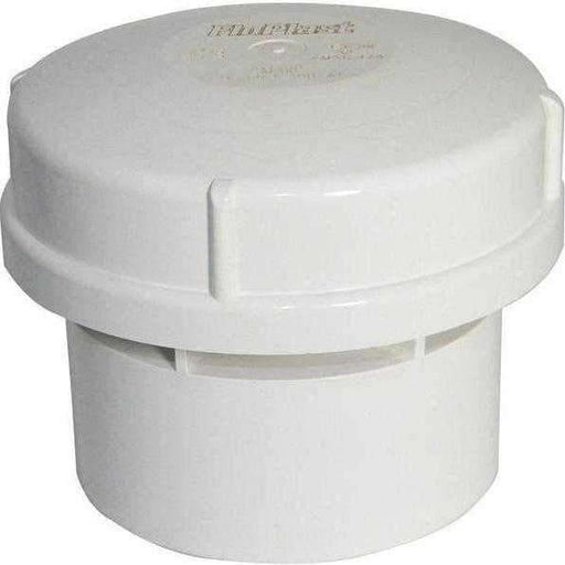 FloPlast AV110 Air Admittance Valve Solvent for 110mm Pipe, White-Armstrong Supplies