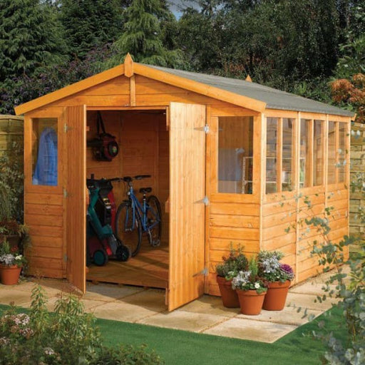 Garden Workshop Shed 9x18