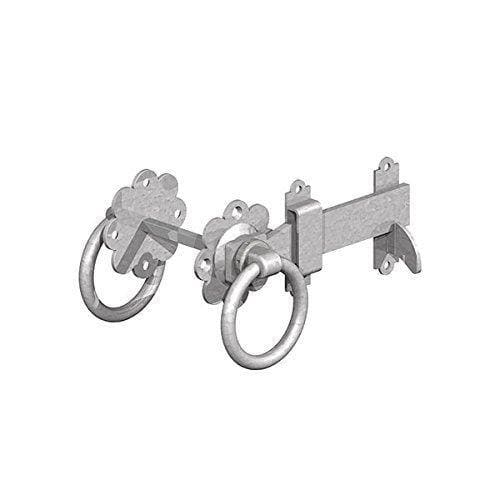 Gatemate 5251501 P36 Ring Gate Latches, Galvanised, 150 mm-Gatemate-Armstrong Supplies