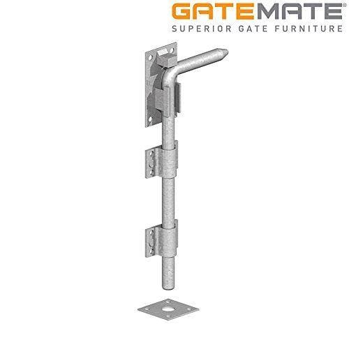 "Gatemate Garage Door Bolt 12"" / 305mm - Galvanised-Gatemate-Armstrong Supplies"