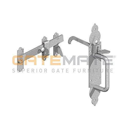 Gatemate Gothic Suffolk Latch - Zinc Plated-Gatemate-Armstrong Supplies