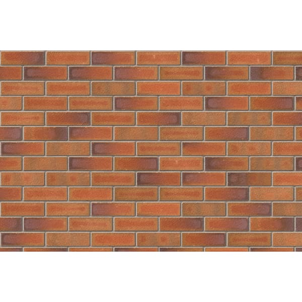 Ibstock Facing Brick 65mm Alderley Burgundy Pack of 500 -