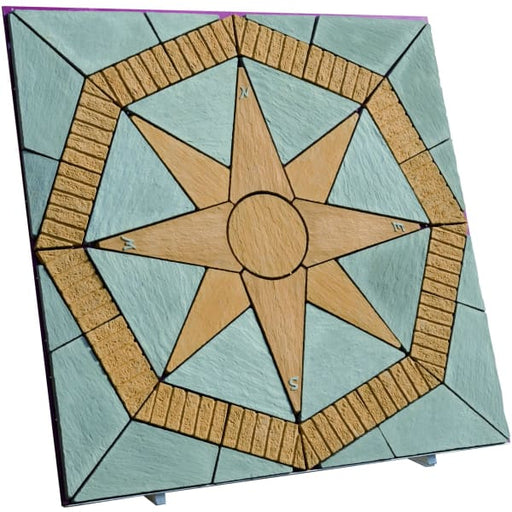 Lakeland North Star 5.76m Paving Patio Kit Gold-Armstrong Supplies