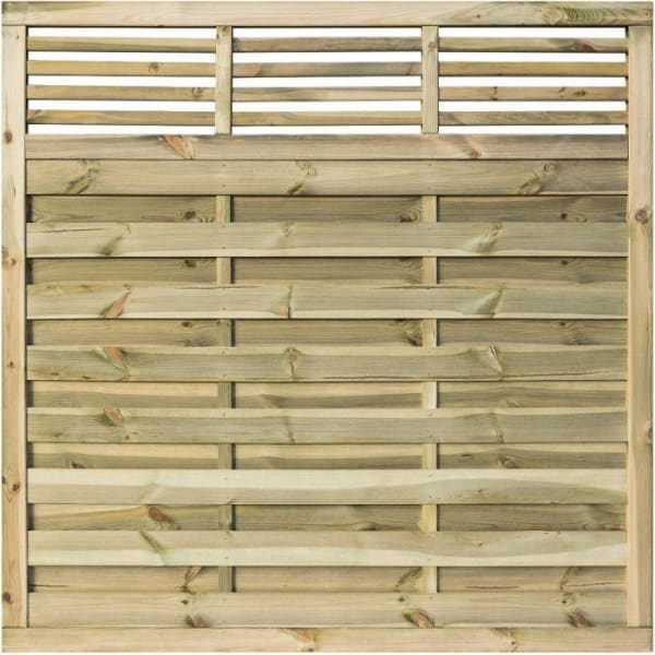 Langham Treated Fence Panel