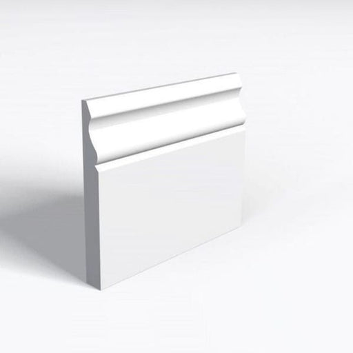 MDF Architrave Ogee Architrave White Primed 18x68mm Arranwood