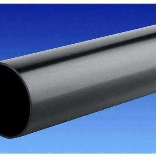 OSMA Roundline Downpipe 68mm 4 Metre Black 0T084-Armstrong Supplies
