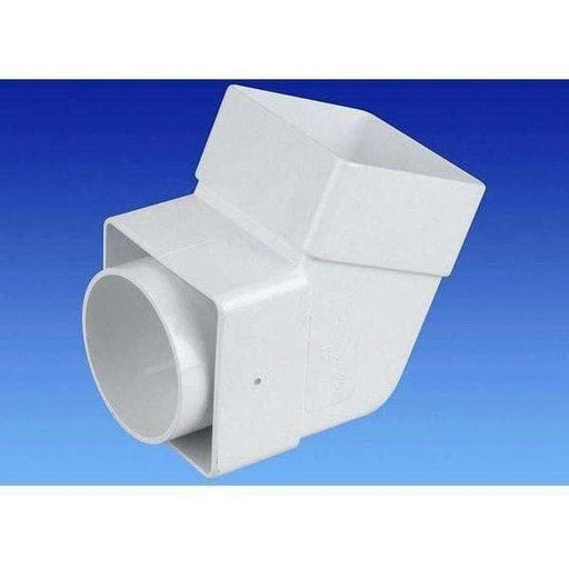 OSMA Squareline Guttering Range 100mm White-Armstrong Supplies